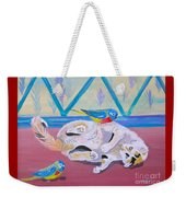 Calico And Friends Weekender Tote Bag