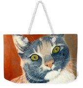 Calico Cat Weekender Tote Bag by Karen Zuk Rosenblatt