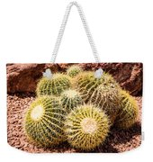 California Barrel Cactus Weekender Tote Bag