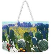 California Big Sur Flowers Weekender Tote Bag