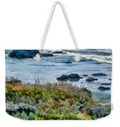 California Central Coast Near San Simeon Weekender Tote Bag