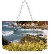 California Coast Overlook Weekender Tote Bag