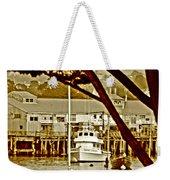 California Coastal Harbor Weekender Tote Bag