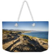 California Coastline From Point Dume Weekender Tote Bag