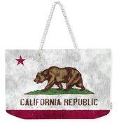 California Flag Weekender Tote Bag