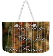 California Weekender Tote Bag