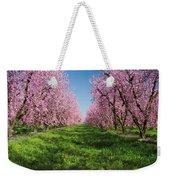 California Peach Tree Orchard  Weekender Tote Bag