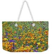 California Poppies And Desert Blubells Weekender Tote Bag