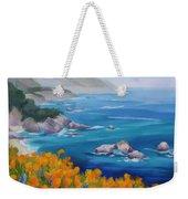 California Poppies Big Sur Weekender Tote Bag
