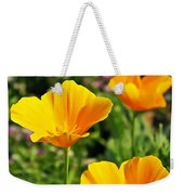 California Poppies In October Weekender Tote Bag