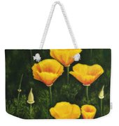 California Poppy Weekender Tote Bag by Veikko Suikkanen