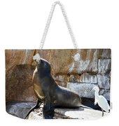 California Sea Lion Weekender Tote Bag