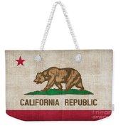 California State Flag Weekender Tote Bag