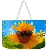 California Sunflower Weekender Tote Bag by Bill Gallagher