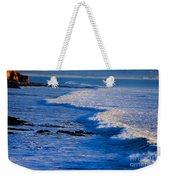 California Pismo Beach Waves Weekender Tote Bag