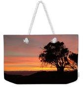 California Tree At Sunset Weekender Tote Bag