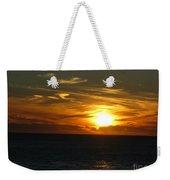 California Winter Sunset Weekender Tote Bag