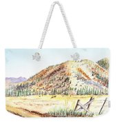Californian Landscape Saint John Ranch Bald Mountain View Shasta County Weekender Tote Bag