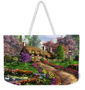Call Of The Bluejay Weekender Tote Bag