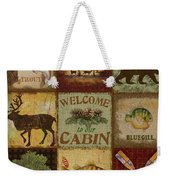 Call Of The Wilderness Weekender Tote Bag