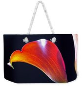 Calla Colors And Curves Weekender Tote Bag by Rona Black