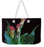 Calla Lilies 3 Weekender Tote Bag