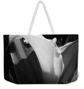 Calla Lily Named Crystal Blush Weekender Tote Bag