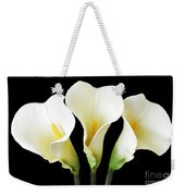 Calla Lily Trio Weekender Tote Bag