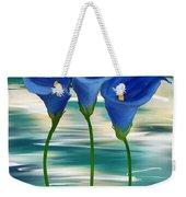 Calla Trio- Calla Lily Paintings Weekender Tote Bag