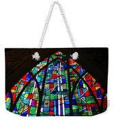 Callaway Gardens Chapel Stained Glass Weekender Tote Bag