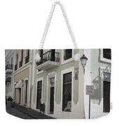 Calle De Luna Y Calle Del Cristo Weekender Tote Bag