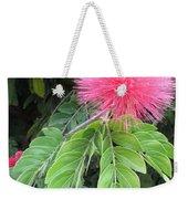 Calliandra Blossom Weekender Tote Bag