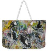 Calligraphy Abstract 03 Weekender Tote Bag