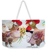 Calling All Chicken Lovers Say I Do Weekender Tote Bag
