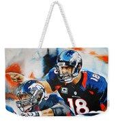 Peyton Manning Weekender Tote Bag