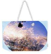 Calm December Sunset Weekender Tote Bag