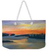Calm Evening Weekender Tote Bag