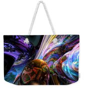 Calming Madness Abstract Weekender Tote Bag