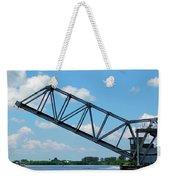 Caloosahatchee Train Draw Bridge Weekender Tote Bag