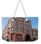 Calumet Hotel-1887 In Pipestone-minnesota  Weekender Tote Bag