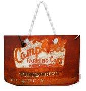 Cambell Farming Corperation Hardin Montana Weekender Tote Bag