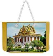 Cambodian Temples 1 Weekender Tote Bag