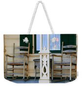 Cambria Squibb House Rocking Chairs Weekender Tote Bag