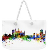 Cambridge England Weekender Tote Bag