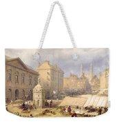 Cambridge Market Place, 1841 Weekender Tote Bag