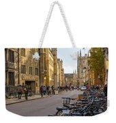 Cambridge Weekender Tote Bag