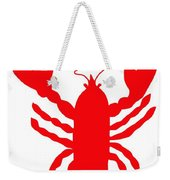 Camden Maine Lobster With Feelers 20150207 Weekender Tote Bag