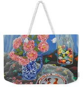 Camellias With Glass Beads Weekender Tote Bag