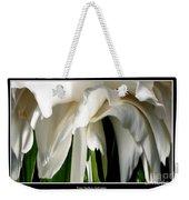 Camellia Abstract Weekender Tote Bag