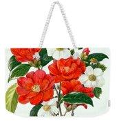 Camellia Adolf Audusson Weekender Tote Bag